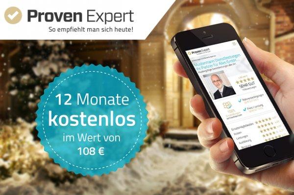 ProvenExpert Basic 1 Jahr kostenlos