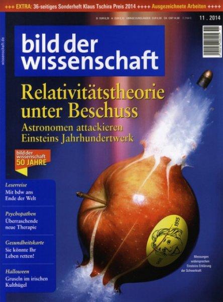Bild der Wissenschaft Jahresabo 12 Ausgaben mit effektiv 1,60 Euro Gewinn durch OTTO Gutschein (3,40 € Kosten mit Best Choice) bei Hobby & Freizeit