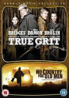 No Country for old Men + True Grit Blu Ray(zavvi)