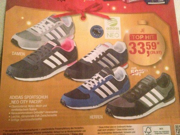 (Metro) Schuhe Adidas City Racer Damen und Herren 39,97€