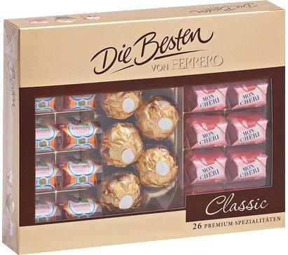 Die Besten von Ferrero Classic (26 St.=269-g-Packg.) für 3.33€ bei Kaufland bundesweit