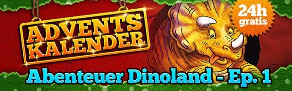 Heise-Adventskalender: Kinderhörspiel - Abenteuer Dinoland - Folge 1 - Allosaurus in Not