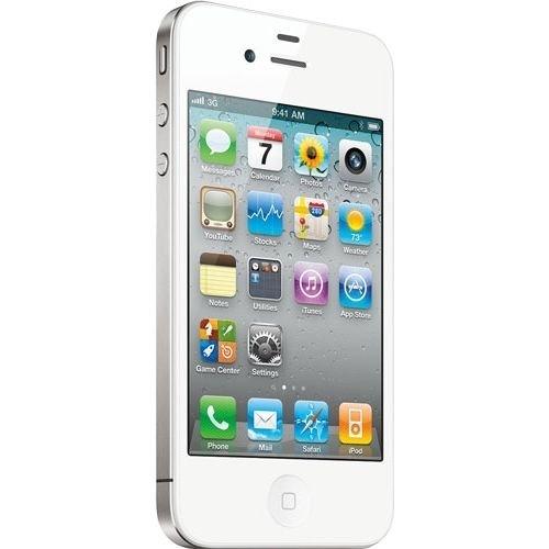 Apple iPhone 4 16GB Smartphone schwarz und weiß - WOW [ebay.de]