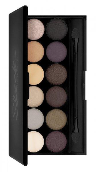[Blitzangebot] Sleek Makeup i-Divine Lidschatten Palette Au Naturel mit Spiegel 13.2 g, 1er Pack (1 x 13 g)