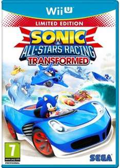 Sonic All Stars Racing Transformed: Limited Edition (Wii U) für 12,99€ @base.com wieder im Angebot
