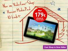 Huawei Media 10 Link+ LTE Tablet im Vodafone Shop