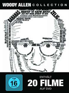 [amazon.de] Woody Allen Collection (20 Discs) DVD