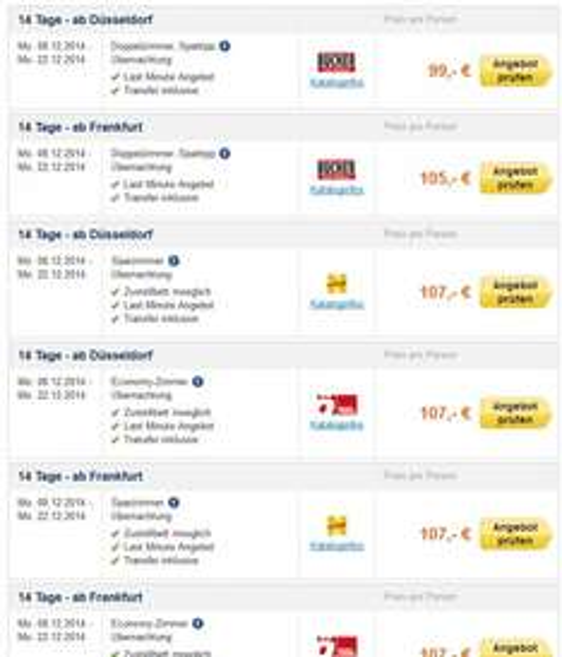 Lastminute: 14 Tage Tunesien inkl. Flug  und Übernachtung ab 198€ für 2 Personen