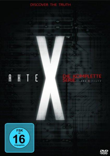 (Amazon.de) (Blitzdeal) Akte X - Die komplette Serie auf DVD für 40€