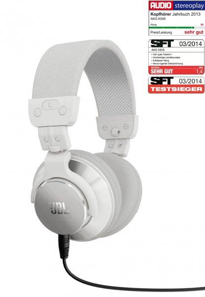 JBL Bassline DJ On-Ear-Kopfhörer Weiß für 46,80€ @Brands4Friends