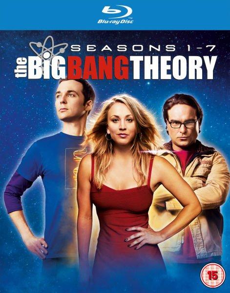 The Big Bang Theory Season 1-7 Blu Ray im O-Ton/ @ Zavvi.es