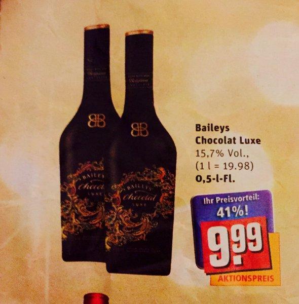 [REWE] Baileys Chocolat Luxe Likör (1 x 0.5 l) für 9,99€ statt 16,99€ (ab 08.12.)