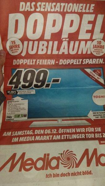 [Lokal MM Karlsruhe] Toshiba 48L5445DG für 499€ statt 590€