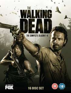 The Walking Dead - Seasons 1-4 [Blu-ray] @amazon.co.uk für 66,88 € inkl. Versand nach D