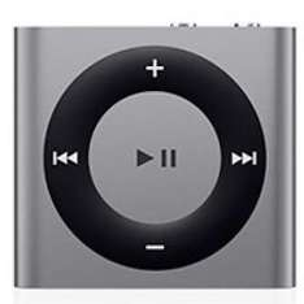 iPod shuffle 2GB, Spacegrau - 15% unter idealo