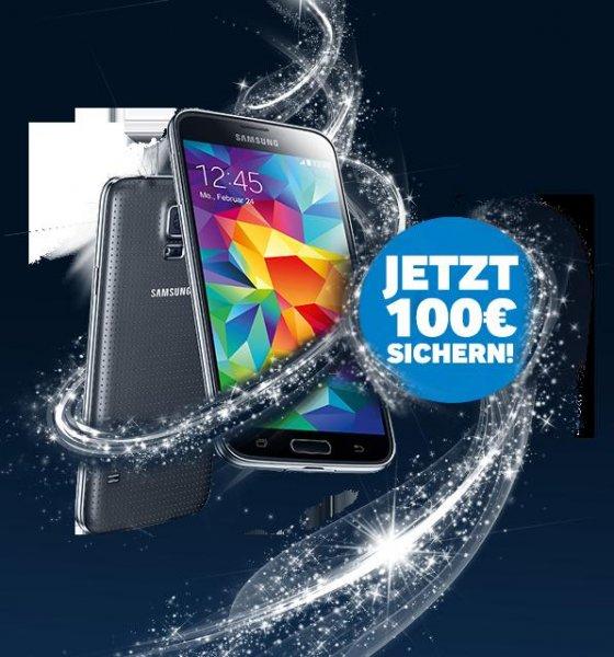 Samsung Galaxy S5 in weiß nur 299€ dank Cashback
