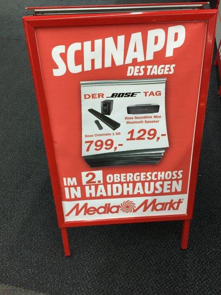 Bose SoundLink Mini Bluetooth Speaker 129€ MediaMarkt Haidhausen München Einsteinstr 130
