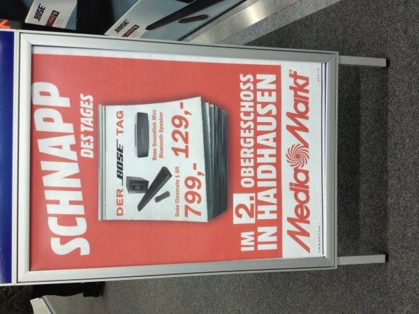 Bose Soundlink Mini für 129€ und Bose Cinemate 1 Sr Soundbar für 799€ [Mediamarkt München]