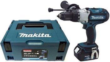 Makita Akku-Schlagbohrschrauber BHP451RFJ 3 Gang mit LED im MAKPAC mit 2x18 V/3,0 Ah-Akkus