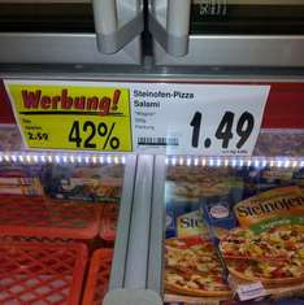 Wagnerpizza nur 1,49€ (42% Günstiger) bei Kaufland Potsdam (lokal)