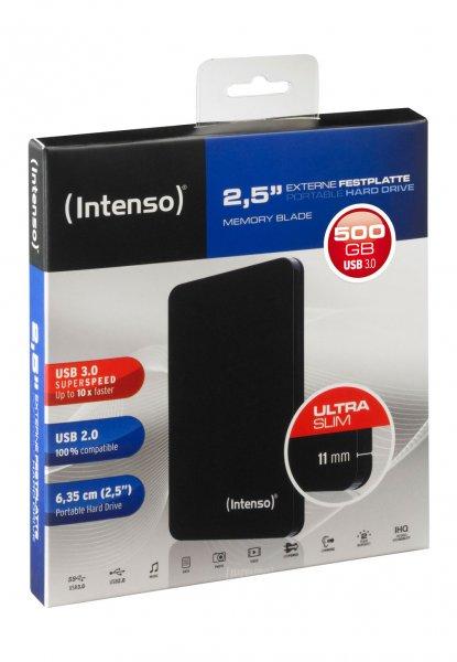 """[Brands4Friends] Intenso 500GB 2,5"""" USB 3.0 HDD für 29,80€ mit Gutschein"""
