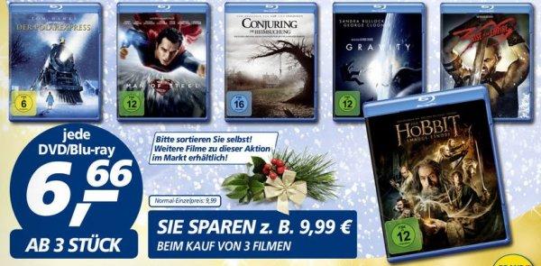 [real] Warner Blu-rays je 6,66€ (ab 3 Stück)