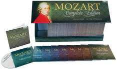 Amazon Blitzangebot: Mozart: Complete Edition (New) Box-Set ( 170 Cds)  Nur 60,99 €