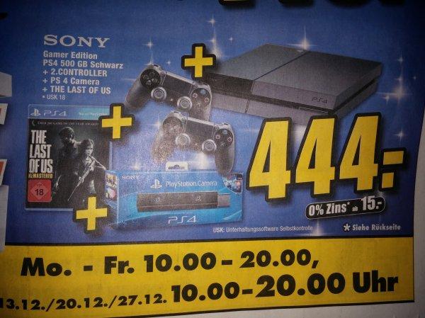 [lokal emmendingen] PS4 + 2.Controller + PS Kamera + The last of us