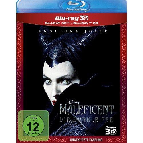 Maleficent 3D-Blu-ray 11,99€ bei Müller mit Filiallieferung