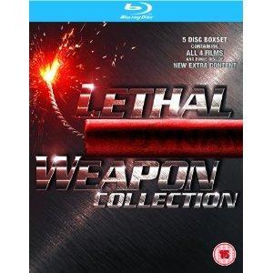 [Bluray] Lethal Weapon 1-4  [Region Free] @Amazon.co.uk