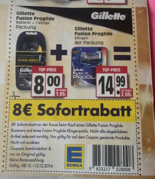 Gillette Fusion Proglide ( EDEKA)