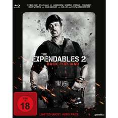 Nur heute bei Müller - The Expendables 2 - Back for War (Limited Uncut Hero Pack) Bluray