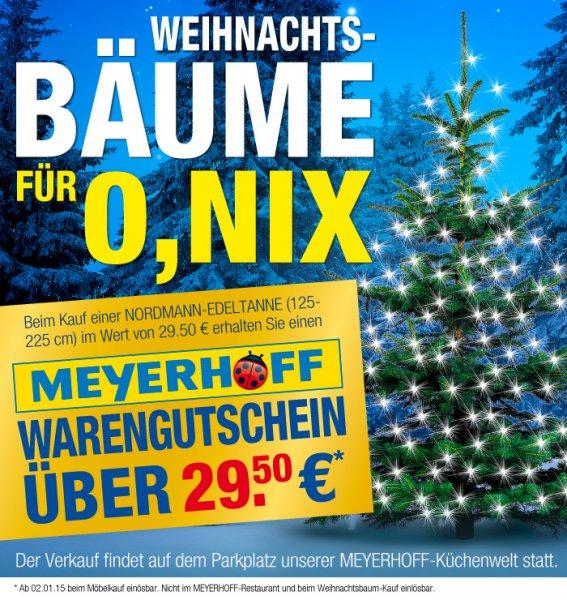 [LOKAL Osterholz-Scharmbeck]: Nordmanntanne f. 29,50 EUR, Volle Rückvergütung in Form vom Gutschein