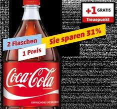 Coca Cola 2x2 Liter [Penny] (Framstag) für 1,98€