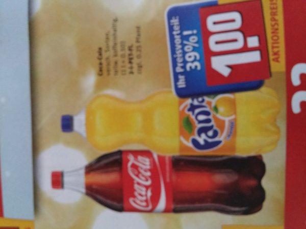 coca-cola versch.sorten 2liter bundesweit @Rewe