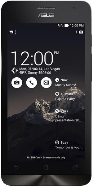 ASUS Zenfone 5 / 9,95€ monatlich: 250 Minuten + 250 SMS + Internet Flat 500 MB