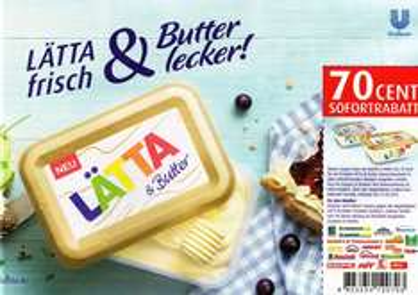 Lätta mit Butter bei Kaufland für 0,49 ct