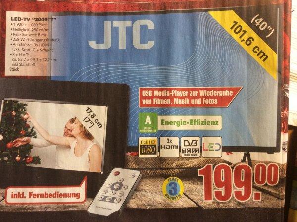 """Edeka regional Aurich und Cottbus, wohl nicht bundesweit: 40"""" fullHD TV mit triple Tuner!"""