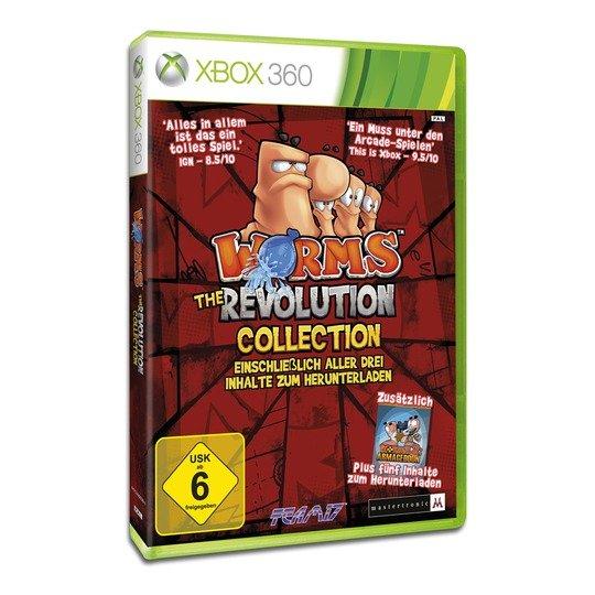 [real.de] Wieder verfügbar: Xbox 360 Worms - The Revolution Collection für 5,99 € anstatt 19,37 €