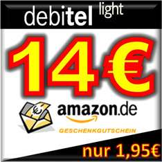 Debitel Light mit 14 Euro Amazon Gutschein