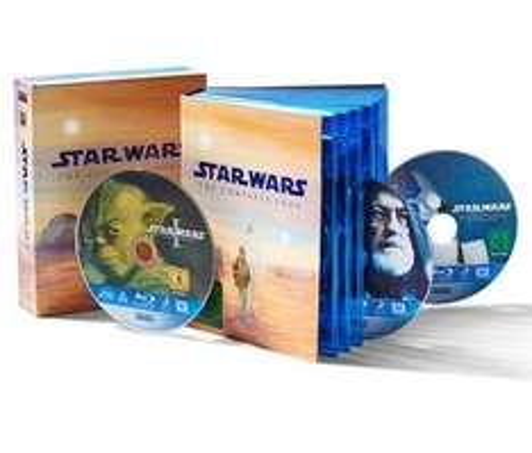 Star Wars Blu Ray Box (gesamte Saga) für 60€ @Tchibo