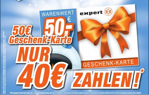 [LOKAL] EXPERT - octomedia - Rastatt: 50€ Gutschein für nur 40€  - 2 Gutscheine pro Kunde