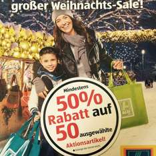 Aldi Süd Weihnachts-Sale: Mind. 50% auf 50 Artikel