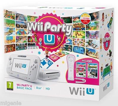 Nintendo Wii U Basic Party Pack inkl. Wii Party U, Nintendoland, Wiimote Plus + Sensor Bar für 198,54€ @ebay.de (migenie) (Lieferung aus UK)