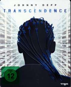 Transcendence - Steelbook (Blu-ray) für 19,78€ @Media Dealer
