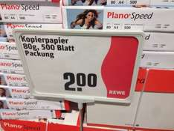[lokal Hamburg Billstedt] Plano Speed Kopierpapier 80 g, 500 Blatt