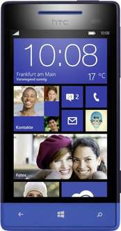 Ebay Tages Aktion: HTC Windows Phone 8S - 4 GB - Atlantic Blue (Ohne Simlock) Smartphone wie neu