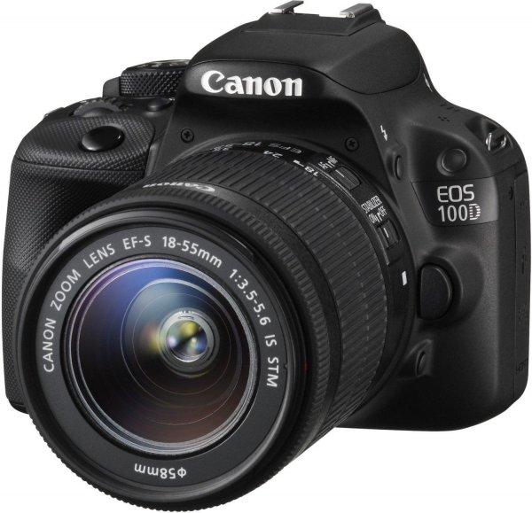 Canon EOS 100D Kit inkl. EF-S 18-55mm + 8 GB Wifi Speicherkarte für 379€ - 50€ Cashback Amazon Blitzangebote 100% reserviert