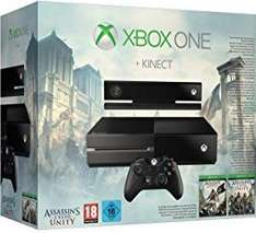 Amazon Blitzangebot - Xbox One 500 GB inkl. Kinect + Assassin's Creed Black Flag und Unity als DLC