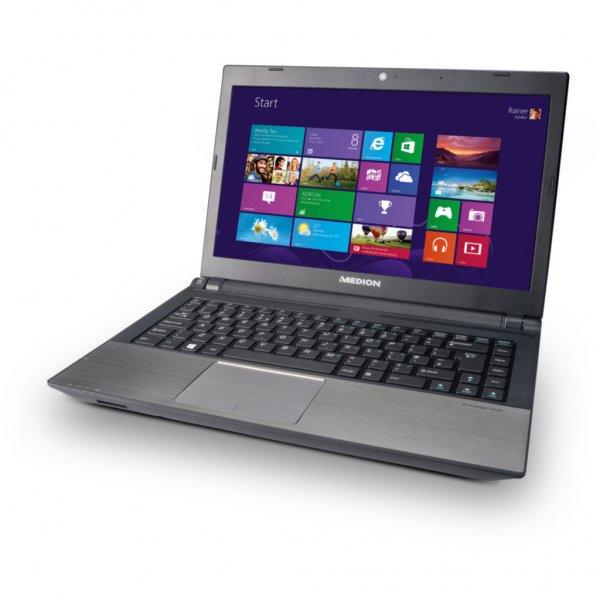 "Medion S4216 (i3-3217u, 4GB RAM, 1TB HDD & 32GB SSD, 14"" matt, Win8, 1,9kg) - B-Ware - 349,99€ @ Medion/ebay"
